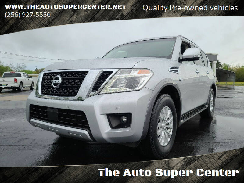 2017 Nissan Armada for sale at The Auto Super Center in Centre AL
