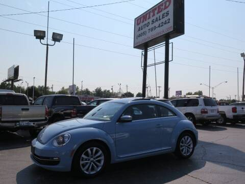 2014 Volkswagen Beetle for sale at United Auto Sales in Oklahoma City OK