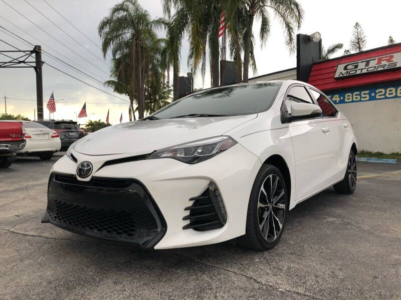 2017 Toyota Corolla for sale at Gtr Motors in Fort Lauderdale FL