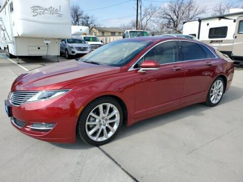 2015 Lincoln MKZ for sale at Kell Auto Sales, Inc in Wichita Falls TX