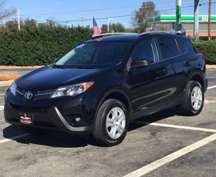 2015 Toyota RAV4 for sale at RUSH AUTO SALES in Burlington NC