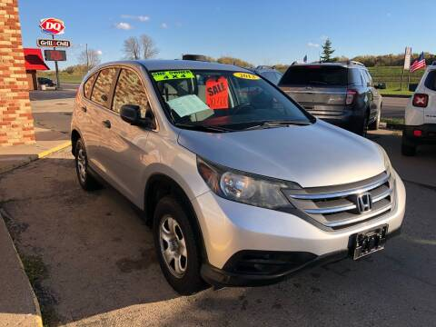 2013 Honda CR-V for sale at River Motors in Portage WI