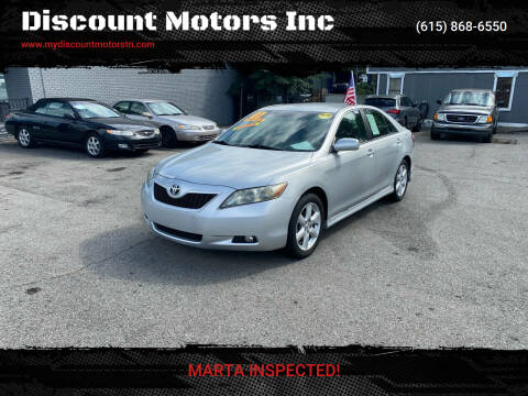 2007 Toyota Camry for sale at Discount Motors Inc in Madison TN