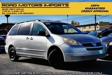 2004 Toyota Sienna for sale at Road Motors Imports in El Cajon CA