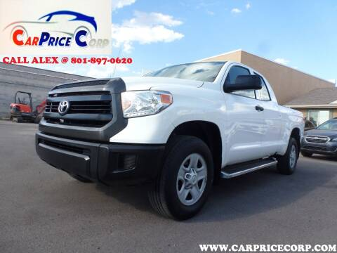2017 Toyota Tundra for sale at CarPrice Corp in Murray UT