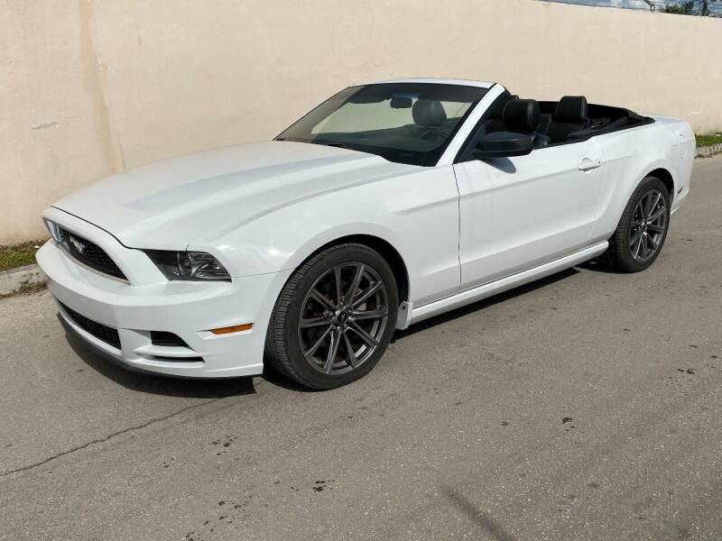 2014 Ford Mustang for sale at My Car Inc in Pls. Call 305-220-0000 FL