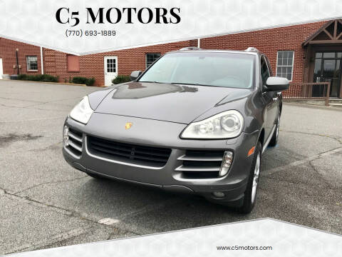 2008 Porsche Cayenne for sale at C5 Motors in Marietta GA