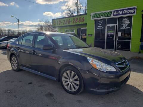 2012 Subaru Legacy for sale at Empire Auto Group in Indianapolis IN