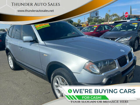 2004 BMW X3 for sale at Thunder Auto Sales in Sacramento CA