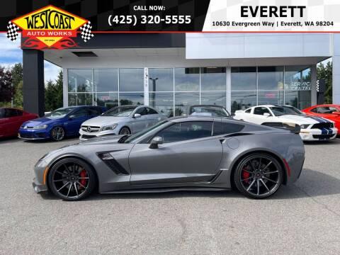 2016 Chevrolet Corvette for sale at West Coast Auto Works in Edmonds WA