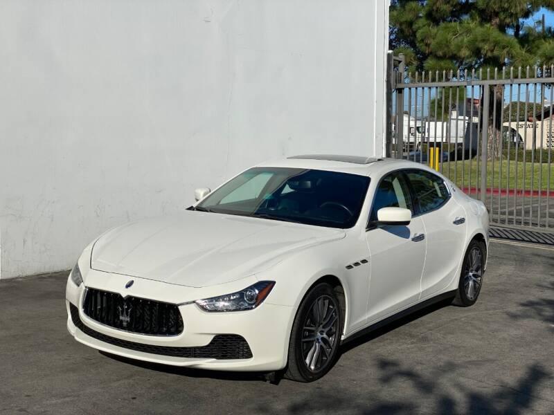 2015 Maserati Ghibli for sale at Corsa Exotics Inc in Montebello CA