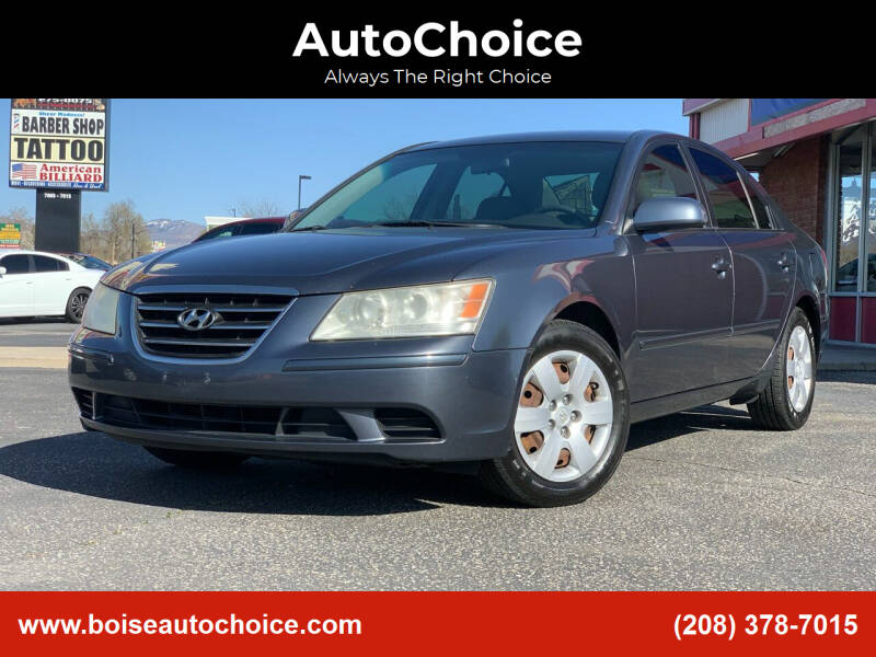 2009 Hyundai Sonata for sale at AutoChoice in Boise ID