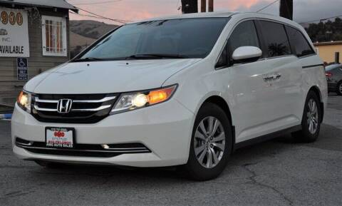 2016 Honda Odyssey for sale at AMC Auto Sales, Inc. in Fremont CA