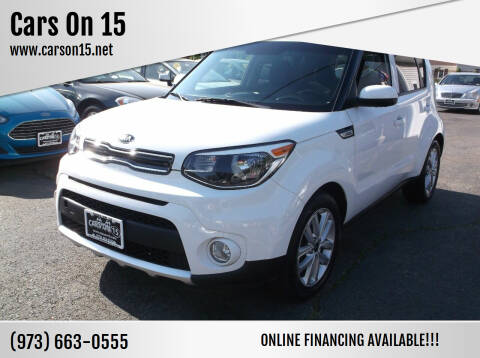 2017 Kia Soul for sale at Cars On 15 in Lake Hopatcong NJ