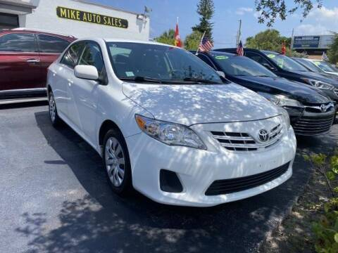 2013 Toyota Corolla for sale at Mike Auto Sales in West Palm Beach FL
