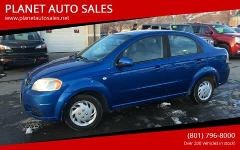 2008 Chevrolet Aveo for sale at PLANET AUTO SALES in Lindon UT