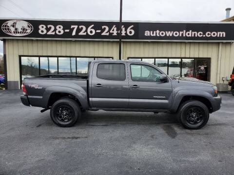 2010 Toyota Tacoma for sale at AutoWorld of Lenoir in Lenoir NC