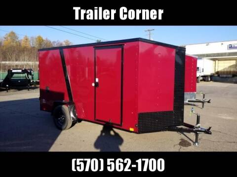 Look Trailers STLC 6X12 - BLACKED OUT - RAMP