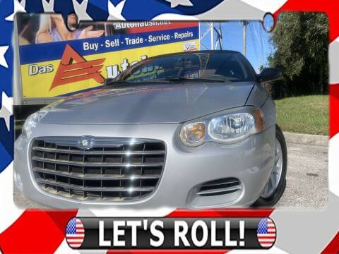 2006 Chrysler Sebring for sale at Das Autohaus Quality Used Cars in Clearwater FL