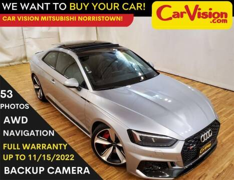 2018 Audi RS 5 for sale at Car Vision Mitsubishi Norristown in Trooper PA