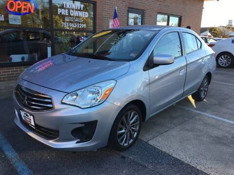 2018 Mitsubishi Mirage G4 for sale at Bankruptcy Car Financing in Norfolk VA