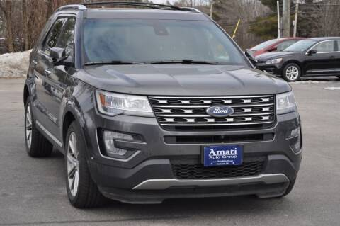 2016 Ford Explorer for sale at Amati Auto Group in Hooksett NH