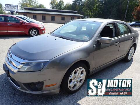 2010 Ford Fusion for sale at S & J Motor Co Inc. in Merrimack NH