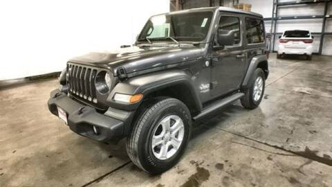2019 Jeep Wrangler for sale at Waconia Auto Detail in Waconia MN