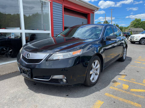 2012 Acura TL for sale at Top Quality Auto Sales in Westport MA