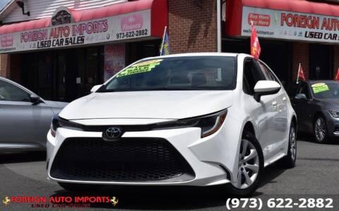 2021 Toyota Corolla for sale at www.onlycarsnj.net in Irvington NJ