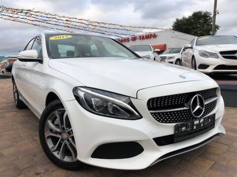 2015 Mercedes-Benz C-Class for sale at Cars of Tampa in Tampa FL