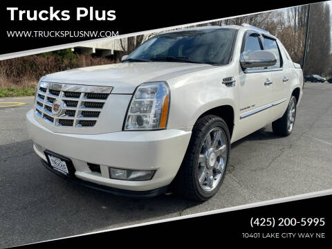 2011 Cadillac Escalade EXT for sale at Trucks Plus in Seattle WA