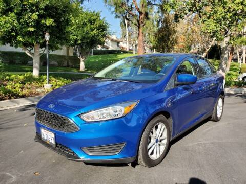 2018 Ford Focus for sale at E MOTORCARS in Fullerton CA
