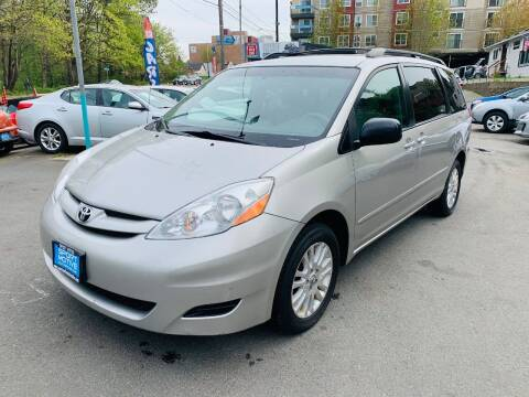 2008 Toyota Sienna for sale at Sport Motive Auto Sales in Seattle WA