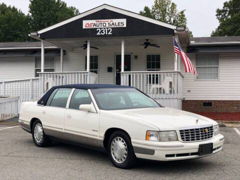 1998 Cadillac DeVille for sale at CVC AUTO SALES in Durham NC