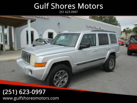 2007 Jeep Commander for sale at Gulf Shores Motors in Gulf Shores AL