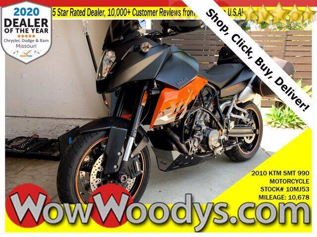 2010 KTM 990 SUPERMOTO for sale at WOODY'S AUTOMOTIVE GROUP in Chillicothe MO