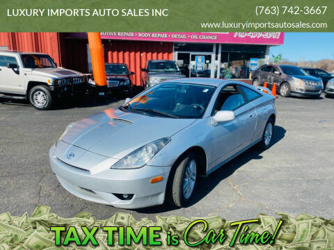 2004 Toyota Celica for sale at LUXURY IMPORTS AUTO SALES INC in North Branch MN