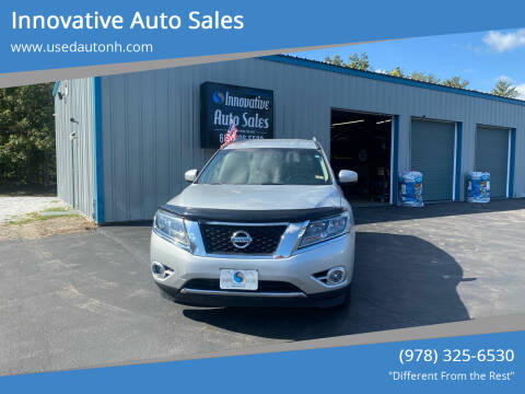 2014 Nissan Pathfinder Hybrid for sale at Innovative Auto Sales in North Hampton NH