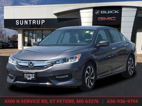 2016 Honda Accord for sale at SUNTRUP BUICK GMC in Saint Peters MO