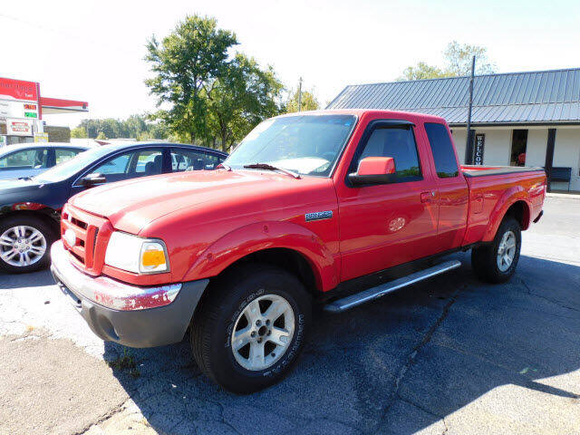 2006 Ford Ranger for sale at WOOD MOTOR COMPANY in Madison TN