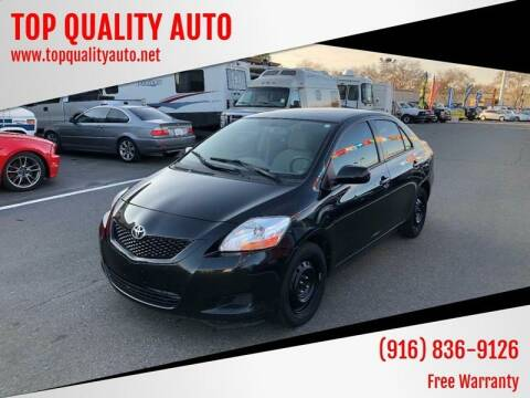 2010 Toyota Yaris for sale at TOP QUALITY AUTO in Rancho Cordova CA