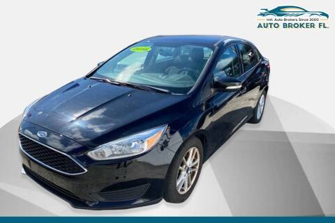 2016 Ford Focus for sale at INTERNATIONAL AUTO BROKERS INC in Hollywood FL