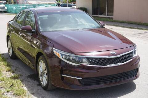 2016 Kia Optima for sale at SUPER DEAL MOTORS 441 in Hollywood FL