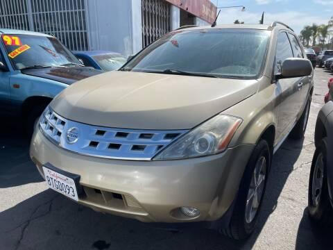 2003 Nissan Murano for sale at 3K Auto in Escondido CA