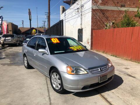 2001 Honda Civic for sale at The Lot Auto Sales in Long Beach CA