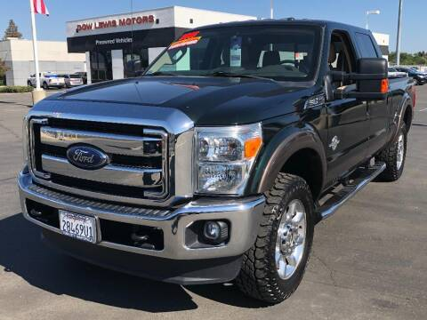 2015 Ford F-250 Super Duty for sale at Dow Lewis Motors in Yuba City CA