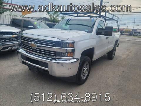 2015 Chevrolet Silverado 2500HD for sale at ADK AUTO SALES LLC in Austin TX