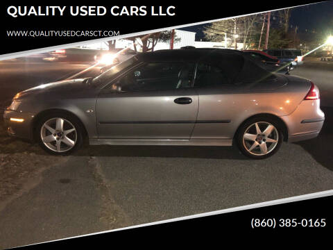2004 Saab 9-3 for sale at QUALITY USED CARS LLC in Wallingford CT
