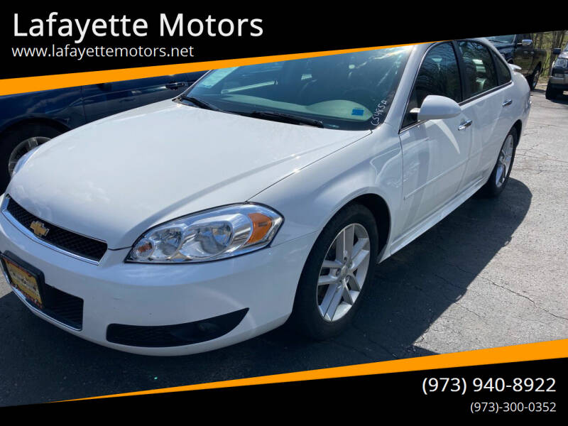 2012 Chevrolet Impala for sale at Lafayette Motors in Lafayette NJ
